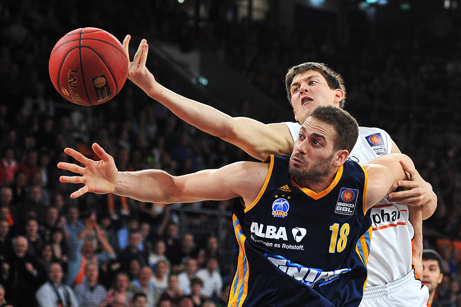 Basketball, Bundesliga: ratiopharm Ulm vs Alba Berlin